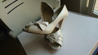 Zapatos fiesta/novia mujer