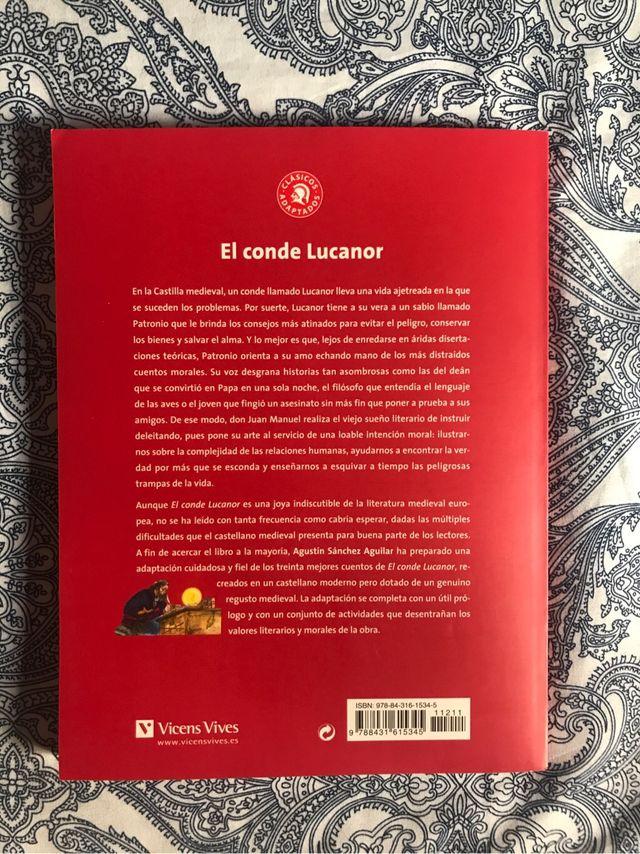 Libro El Conde Lucanor, clásicos adaptados