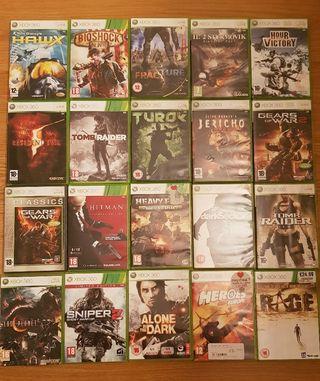 Juegos Xbox 360 a 6€ cada uno