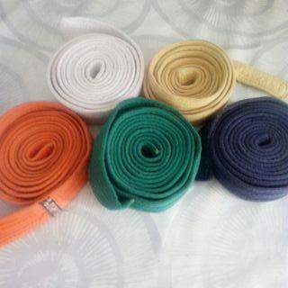 cinturones de artes marciales