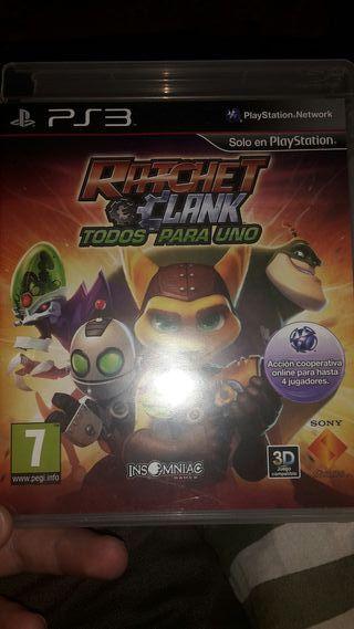 Ratchet and clank Todos para uno