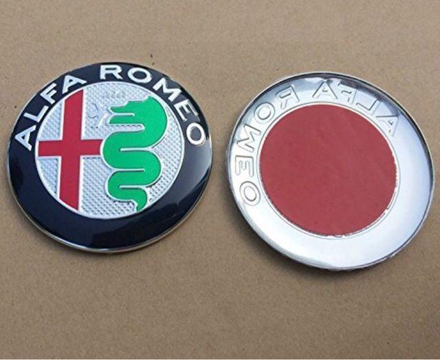 Emblema alfa romeo 74 mm