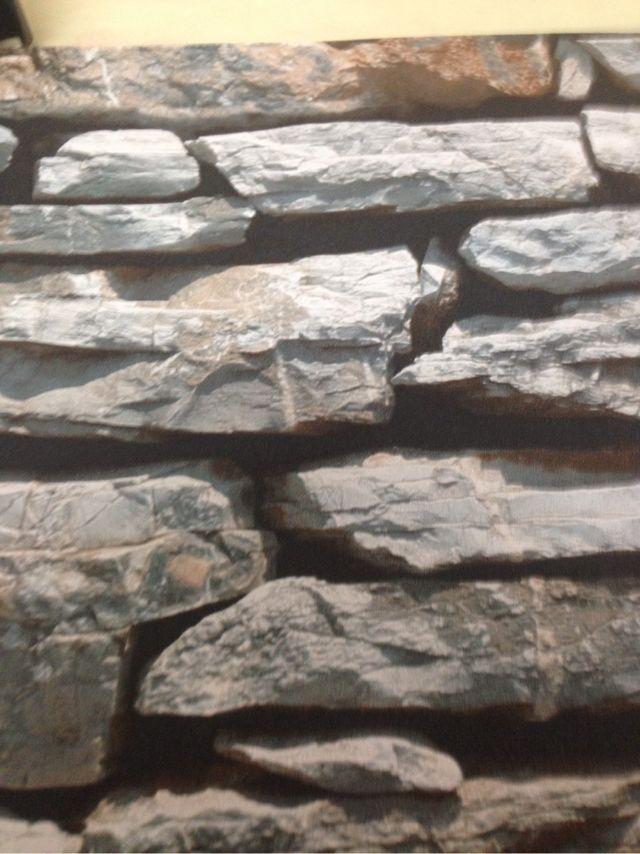 Papel pintado imitacion piedra de segunda mano por 10 en palau solita i plegamans en wallapop - Papel pintado imitacion piedra ...