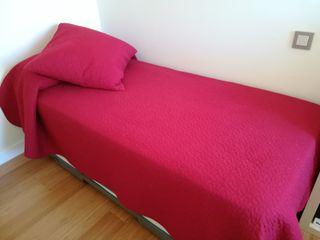 Colchas Ikea para cama de 90 cm.