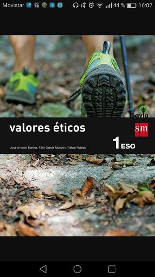 Libro Valores Eticos 1°E.S.O