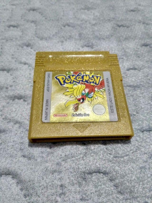 Juego Pokemon Oro