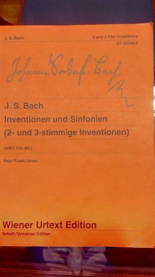 Invenciones y sinfonías Bach
