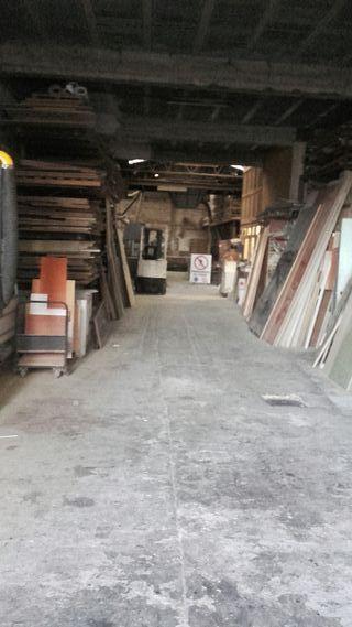 alquiler carpinteria en funcionamiento