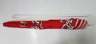 Sombrilla Cocacola 2,20 metros diametro