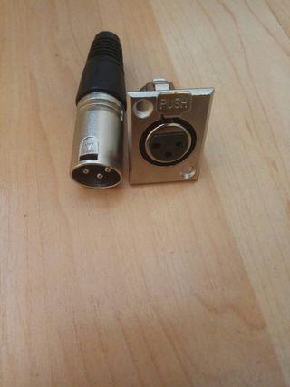 conector Audio XLR