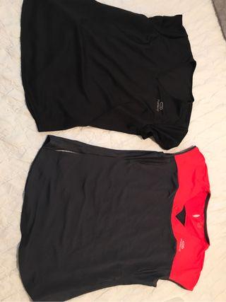 Lote De 2 Camisetas De Deporte
