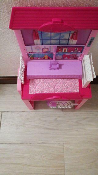 casa de vacaciones glam barbie..