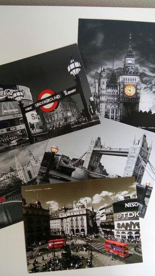 Postales decoracion London