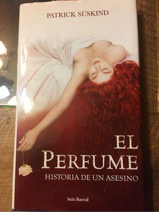 Libro lectura El perfume