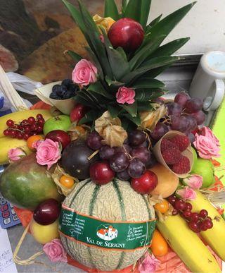 Cestas de Frutas y decoracion