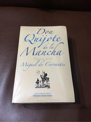 El Quijote en edición de bolsillo.