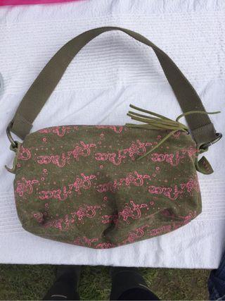 Fat face shoulder bag/makeup