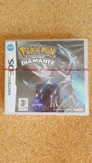 Videojuego Pokémon edición diamante nuevo con prec