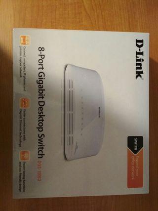 Router D-Link sin estrenar