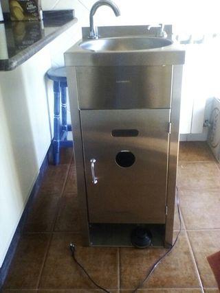 lavamanos inoxidable portatil