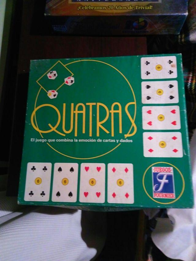 Juego De Mesa Con Cartas Y Dados Quatras De Segunda Mano Por 5 En