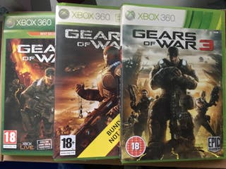 Gears of War 1, 2 y 3 Xbox 360