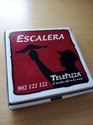 Juego de la escalera Telepizza - Edicion especial