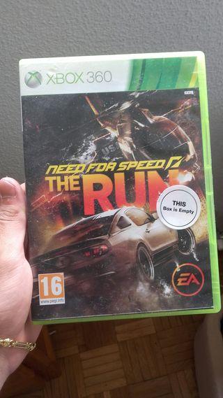 Videojuego Xbox 360 Need for speed the run