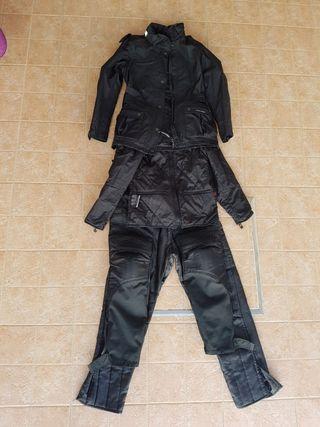 traje moto cordura