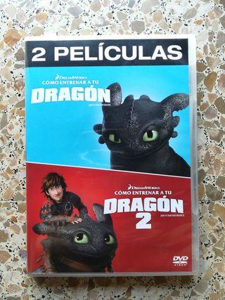 Como entrenar a tu dragón 1 y 2