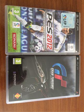 Juegos de PSP