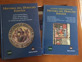 Libros de Historia del Derecho Español (Uned)