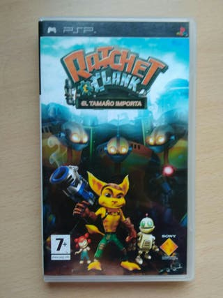 Juego PSP Ratchet & Clank