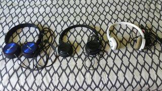 Auriculares/Cascos.