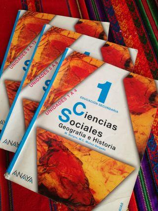 Ciencias Sociales Geografía e Historia 1 ESO Anaya