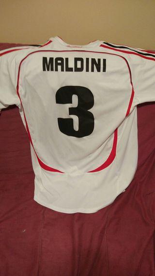 Camiseta Milán(Maldini) temporada 2006/07