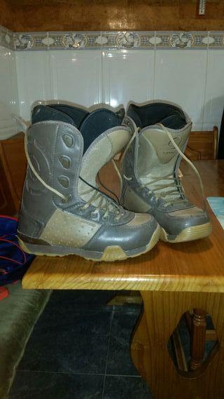 botas de snow nitro.talla 42