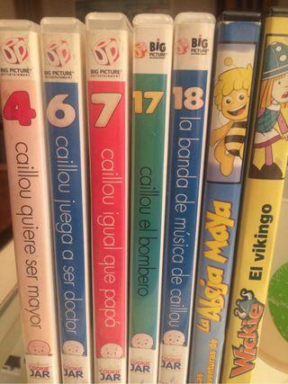 Peliculas DVD de Caillou ...