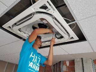 recarga de gas aire acondicionados