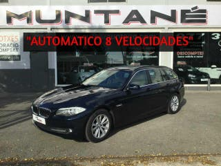 """BMW Serie 5 Touring 520d Touring Automatico """"8 vel"""" 190cv.-""""Full-equip"""".-"""