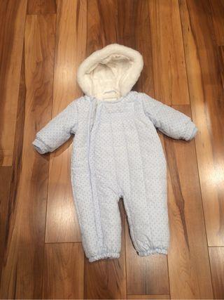 Mono bebe abrigo polar