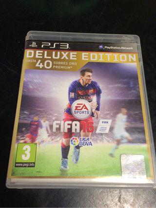 FIFA16 de luxe PS3