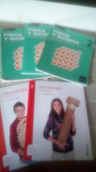libros 2. segundo ESO