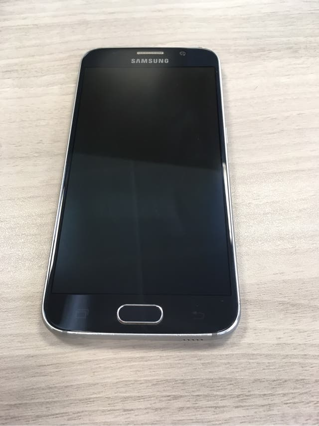 Samsung S6 32GB Azul 6 MESES GARANTIA OFICIAL