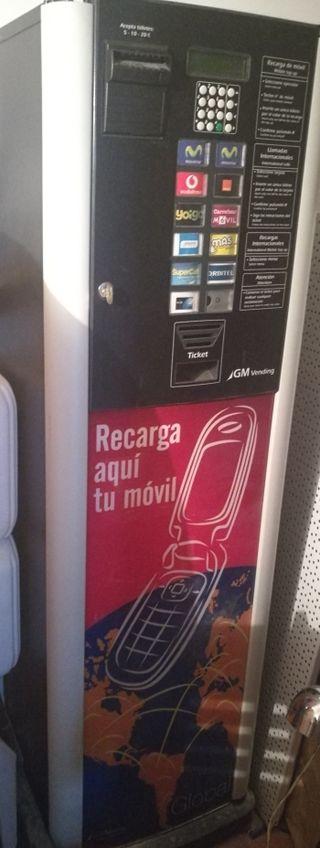 máquina Recarga móvil GM VENDING GLOBAL