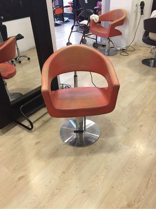 Sofa peluqueria