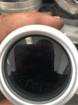 Reloj presion de turbo