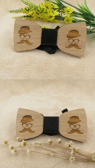 Pajarita de madera envío gratis