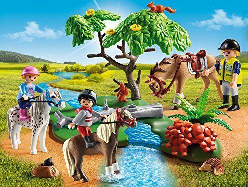 PLAYMOBIL Country - Paseo de Ponis en el Campo