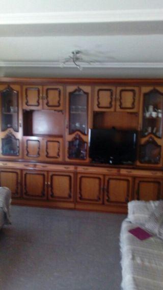 mueble salon, mesa y sillas